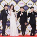 Jun Hyun Moo, Uhm Hyun Kyung, Jo Se Ho dan Yoo Jae Seok Hadir Wakili 'Happy Together' di KBS Entertainment Awards 2016