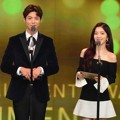 Park Bo Gum dan Irene Red Velvet di KBS Entertainment Awards 2016