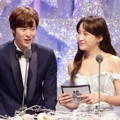 Gong Myung dan Jung Hye Sung di MBC Entertainment Awards 2016