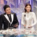 Kim Gura dan Han Hye Jin di MBC Entertainment Awards 2016