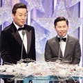 Jung Jun Ha dan Yang Se Hyung di MBC Entertainment Awards 2016