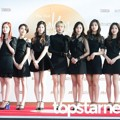 Twice di Red Carpet Hari Pertama Golden Disk Awards 2017