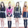 Black Pink di Red Carpet Hari Pertama Golden Disk Awards 2017