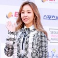 Baek A Yeon di Red Carpet Seoul Music Awards 2017