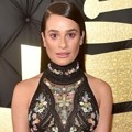 Lea Michele di Red Carpet Grammy Awards 2017