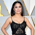 Salma Hayek di Red Carpet Oscar 2017