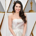 Auli'i Cravalho di Red Carpet Oscar 2017