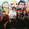 Kevin and The Red Rose di Launching DVD 'Boboiboy The Movie'