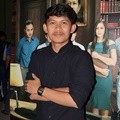 Indra Jegel di Konferensi Pers Film 'The Guys'