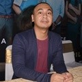 Raditya Dika di Konferensi Pers Film 'The Guys'