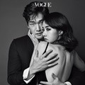 Yoo Ji Tae dan Lee Jung Hyun di Majalah Vogue Edisi November 2016