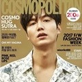 Lee Min Ho di Majalah Cosmopolitan Edisi April 2017