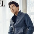 Lee Sang Yoon di Majalah L'Officiel Hommes Edisi April 2017