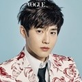 Suho EXO di Majalah Vogue Edisi April 2017