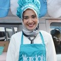 Zaskia Sungkar dalam Acara Wardah Pop Up Kitchen for Ramadhan 2017