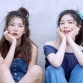 Irene dan Seulgi Red Velvet di Majalah High Cut Vol. 199