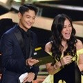 Minho SHINee dan Gracia Indri di Indonesian Television Awards 2017