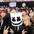 Bangtan Boys bersama Marshmello di American Music Awards 2017