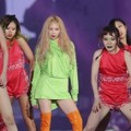 HyunA Nyanyikan Lagu barunya 'Lip & Hip' di MelOn Music Awards 2017