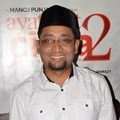 Habiburrahman El Shirazy Hadiri Press Screening Film 'Ayat-ayat Cinta 2'