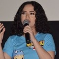 Wizzy di Konferensi Pers Film 'Si Juki The Movie: Panitia Hari Akhir'