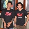 Tora Sudiro dan Vino Bastian di Press Screening Film 'Hoax'