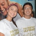 Amanda Rawles dan Dimas Anggara di Launching Trailer Film 'Perfect Husband'