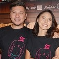Gading Marten dan Della Dartyan di Konferensi Pers Film 'Love for Sale'
