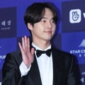 Yang Se Jong datang sebagai nominasi Best New Actor TV di Baesang Art Awards 2018.
