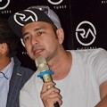 Raffi Ahmad di Konferensi Pers Film '13 The Haunted'