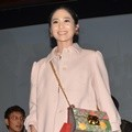 Bunga Zainal di Konferensi Pers Film 'The Perfect Husband'