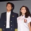 Dimas Anggara dan Amanda Rawles di Konferensi Pers Film 'The Perfect Husband'