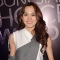 Sheryl Sheinafia di Konferensi Pers Indonesian Choice Awards 5.0