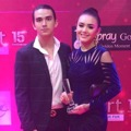 Amanda Manopo dan Christ Laurent di Insert Awards 2018