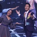 Penampilan Marion Jola dan Boy William di Panggung Panasonic Gobel Awards 2018