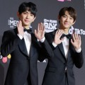 Hyeongseop X Euiwoong di Red Carpet MAMA 2018 Korea