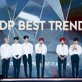 Wanna One Saat Raih Piala Best Trend