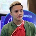 Rizky Febian di Konferensi Pers Indonesian Idol Junior 2018