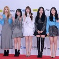 G-Friend di Red Carpet SBS Gayo Daejun 2018