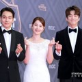 Lee Kyu Han, Kim Joo Hyun dan Kim Min Kyu Wakili Drama 'Rich Family's Son' di Red Carpet MBC Drama Awards 2018