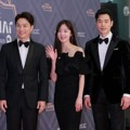 Jung Sang Hoon, Sunhwa, Kim Kang Woo Wakili Drama 'My Husband, Mr. Oh!' di Red Carpet MBC Drama Awards 2018