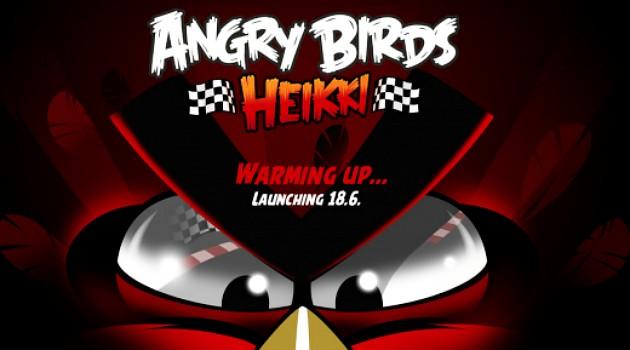 Angry Birds dengan Tema Balap Meluncur 18 Juni