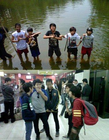 Coboy Junior Syuting Reality Show di Empang Sumatera | Kabar, Berita