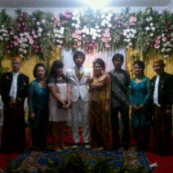 Foto pernikahan ryan d massiv