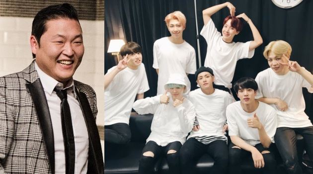 Pamer Video Perform di American Music Awards, PSY Akui Bangga Pada BTS