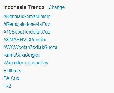 Video Musik SMASH 'Rindu Ini' Jadi Trending Topik Twitter Indonesia