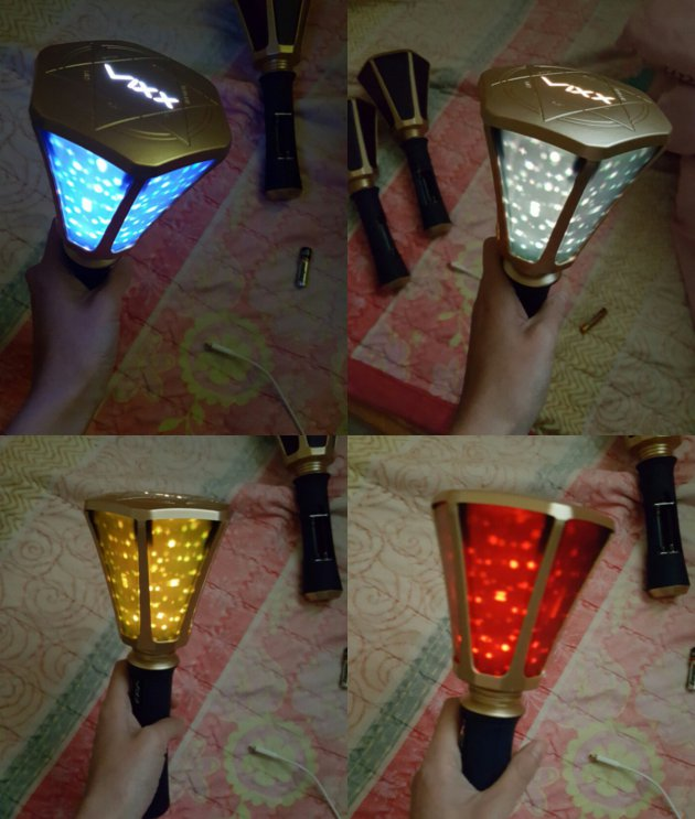Now I can say monsta x and pentagon has the best lightsticks