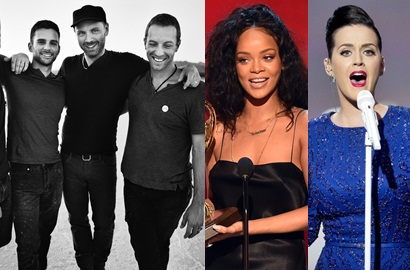 Coldplay, Rihanna, Katy Perry 'Diperas' Sebelum Manggung di Super Bowl 2014?