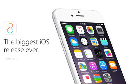 iOS 8 Siap Rilis 17 September