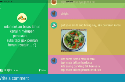 Project Pop Chatting di Video Lirik 'Sama Sama'